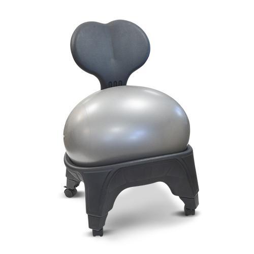 Ergonomisk stol boll framifrån