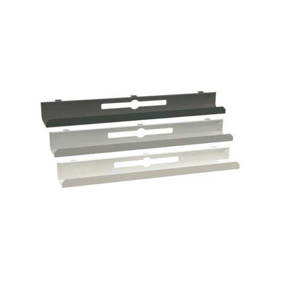 Vit svart och grå kabelhållare